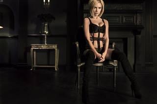 Fond d'écran Widescreen et de la mode de luxe Victoria Beckham.